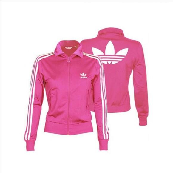 adidas giacche & cappotti di moda poshmark trifoglio giacca rosa